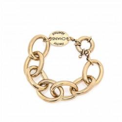 Pulseira Hector Albertazzi Chain Nave Ouro Vintage