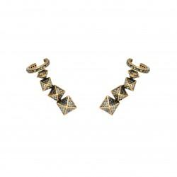 Brinco Hector Albertazzi Ear Cuff Rise Ouro Vintage