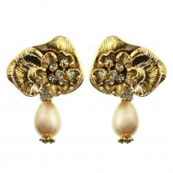 Brinco Claudia Arbex Aura Ouro Vintage
