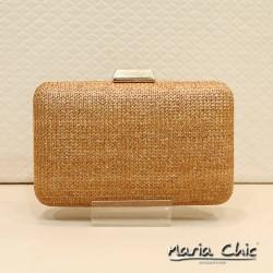 Bolsa Maria Chic Acessórios Clutch Palha