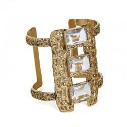 Bracelete Camila Klein Liquens Ouro Velho