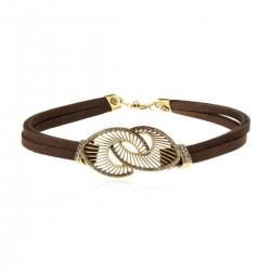 Colar Claudia Arbex Diana 6540 Choker Ouro Vintage