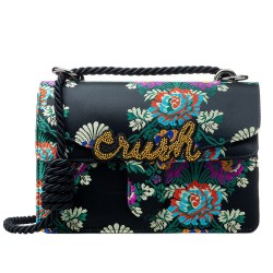 Bolsa Grande Brocado Bordado Crush Isla