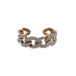 Bracelete Hector Albertazzi Light Grumê Ouro Vintage