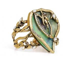 Bracelete Camila Klein Rizo Resina Colorida Ouro Velho