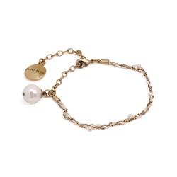 Tornozeleira Camila Klein Anckle Bracelet Ouro Velho