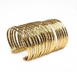 Bracelete Camila Klein Coragem Ouro Velho