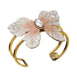 Bracelete Nádia Gimenes (Re)Nascer Borboleta Esmaltado Dourado