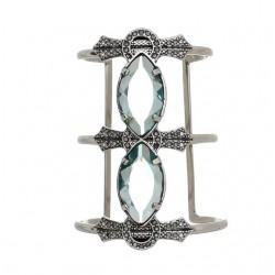 Bracelete Estela Geromini Morpho Prata