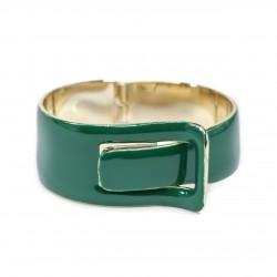 Bracelete S&B Acessórios Fivela Esmaltado Ouro Velho
