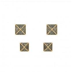 Brinco Hector Albertazzi Kit Rise Ouro Vintage