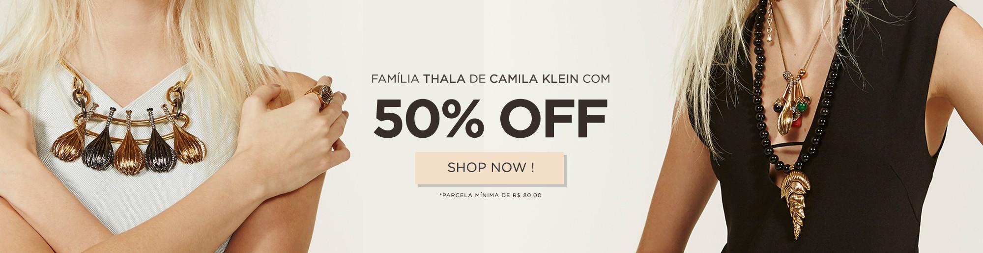 Thala de Camila Klein com 50%OFF