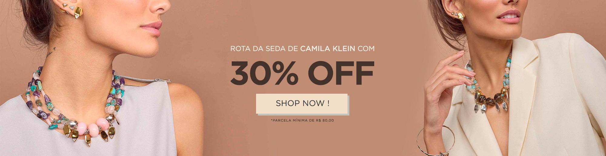 COLEÇÃO ROTA DA SEDA COM 30% OFF